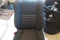 automotive upholstery before