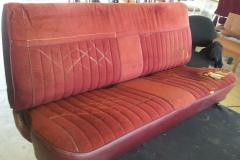 Before re-upholstery
