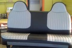 Rear Car Seat Upholstery