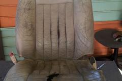Bucket Seat before reupholstery