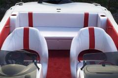 After Photo - Speed Boat Complete re-Upholstery Back Seats