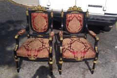 Antique Chairs Reupholstery and Repair